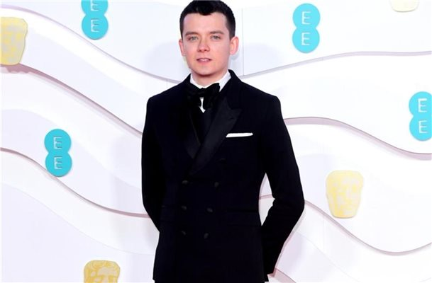 Asa Butterfield wird 23. Foto: Ian West/PA Wire/dpa
