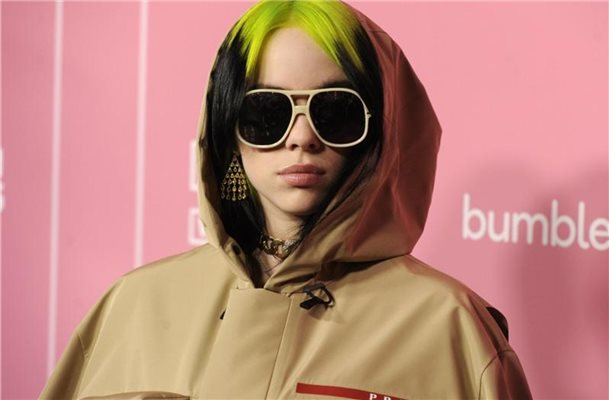 Billie Eilish wird 18. Foto: Chris Pizzello/Invision/AP/dpa