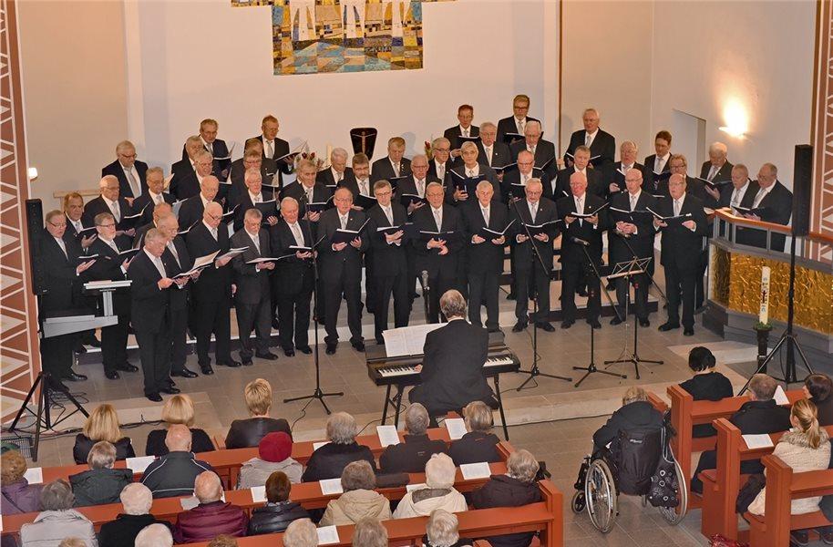 Nordhorner Männerchor: Konzert von Brahms bis Queen