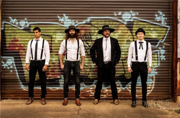 The Dead South: Bluegrass und Rock vom Feinsten