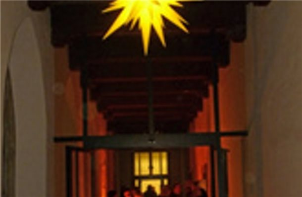 """Leuchtender Advent"" im Kloster Frenswegen"