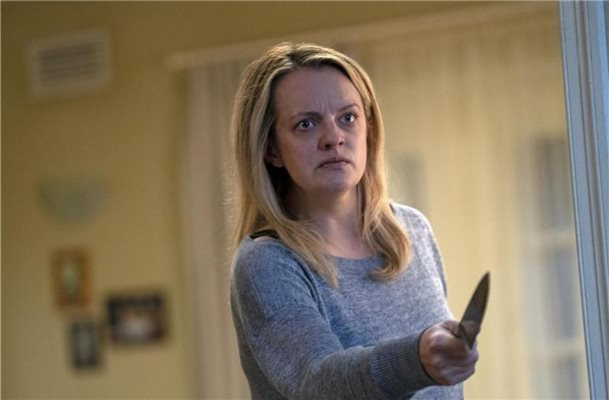Die Bedrohung lauert überall: Elisabeth Moss als Cecilia Kass. Foto: Mark Rogers/Universal Pictures/dpa
