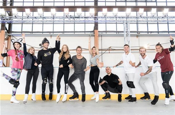 """Dancing on Ice"": Promis mit Blessuren"