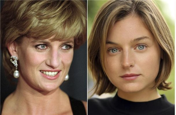 "Emma Corrin spielt Lady Diana in ""The Crown"""