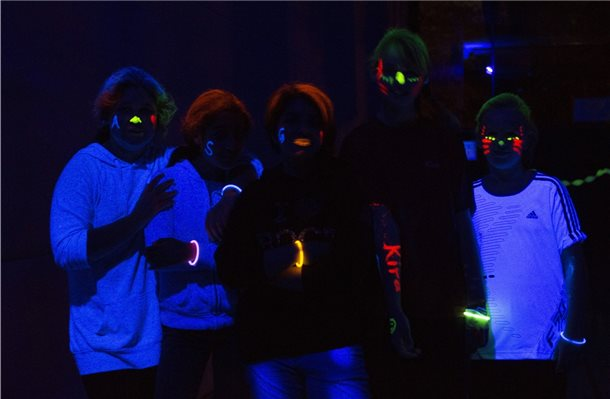Blacklight-Disco im Jugendzentrum Nordhorn