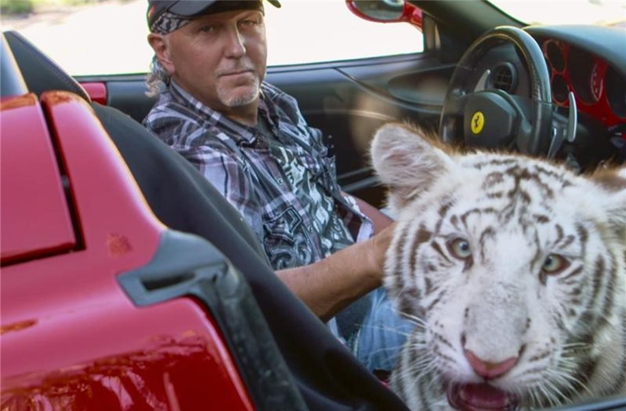 "Joe Exotic ist der ""Tiger King"". Foto: Netflix/dpa"