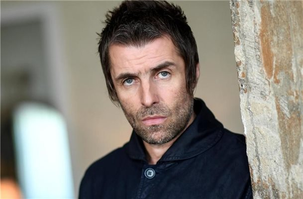 Klare Worte: Liam Gallagher beim dpa-Interview in Berlin. Foto: Britta Pedersen