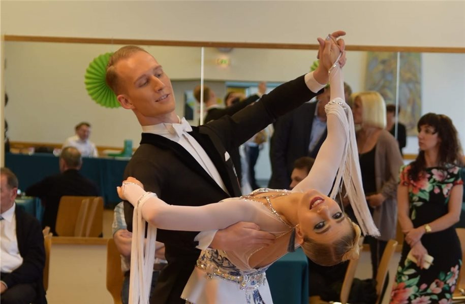 TSG-Tanzpaar gewinnt Ranglistenturnier in Aachen
