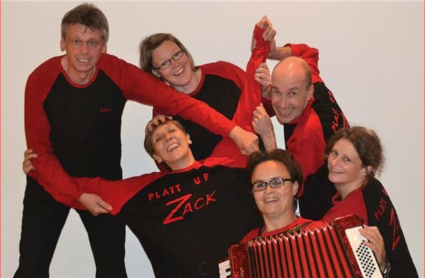 "Improvisationstheater ""Platt up zack"" zu Gast im ""Treff 10"""