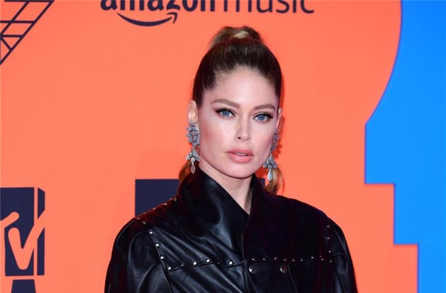 Model Doutzen Kroes bei den MTV Europe Music Awards 2019. Foto: Ian West/PA Wire/dpa