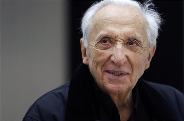 Pierre Soulages wird 100. Foto: Guillaume Horcajuelo/EPA/dpa
