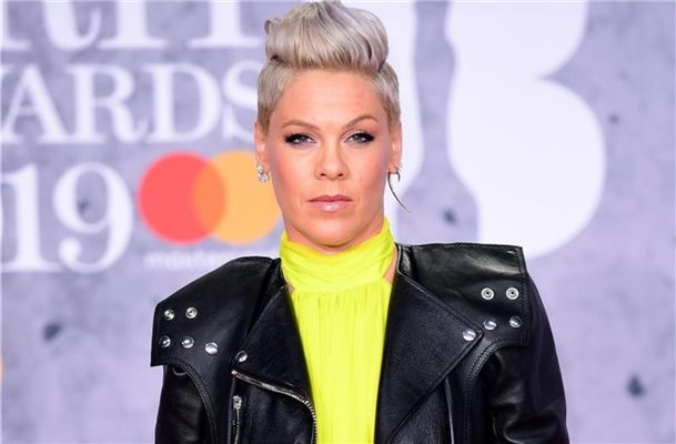 Sängerin Pink bei den Brit Awards 2019. Foto: Ian West/PA Wire/dpa