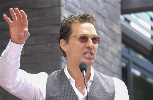 Matthew McConaughey mit Instagram-Account