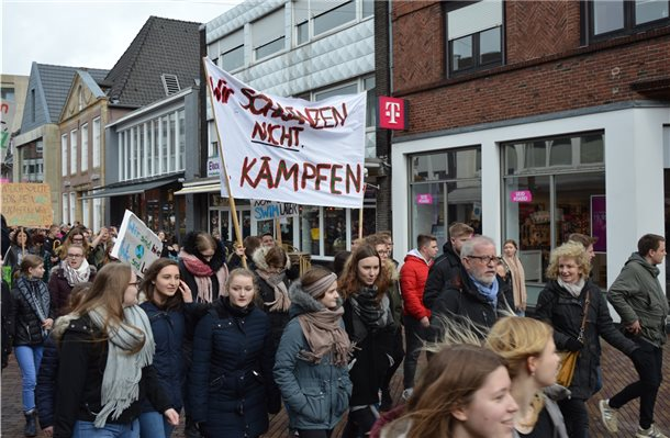 """Fridays for Future""-Demonstration heute Mittag in Nordhorn"
