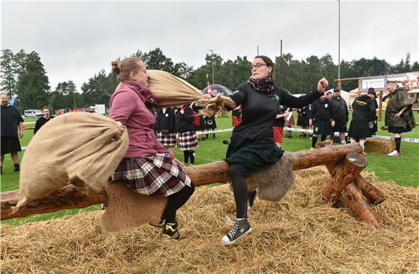 Highland Games in Brandlecht-Hestrup am 11. August