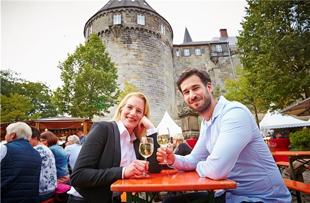 Wieder Weinfest in Bad Bentheim