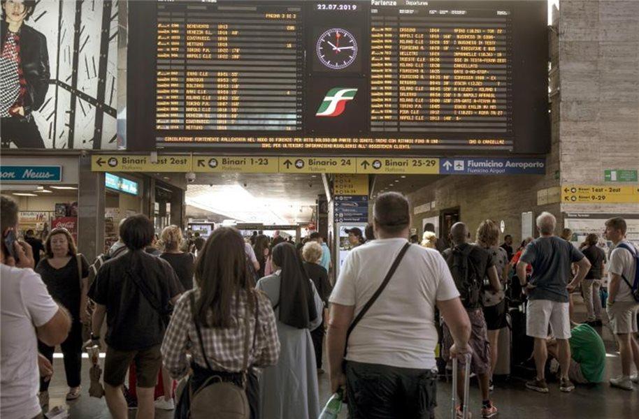 öffentlicher Verkehr In Italien Wird Bestreikt
